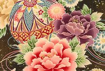 Quilt-Gate HR3930 Hime / Quilt-Gate: Hyakka Ryoran - Hime Collection of fabrics