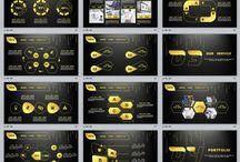 glod powerpoint templates