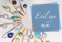 Evil Eye Bead / The guardian eye protects against negative energy and wards off bad luck.