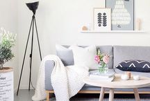 STYLE GUIDE - Scandi / The Scandinavian design style is minimalist, clean lines and relies on lighter tones to combat darkness when the sun goes down so early.  Typically featuring white walls, light timber flooring and furniture with pastel accents this is a style that works well in small spaces.