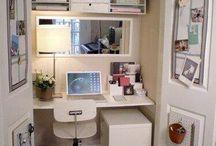 Desk in the closet