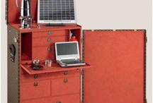 OFFICE IN TRUNK (HOME OFFICE) / Postazioni computer o segretaire  in un baule