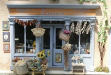 miniature shop fronts