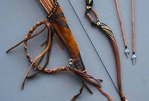 Leather & Archery / Leather - Archery - Bags - Hunting - Bows - Arrows - Quivers - Tutorials