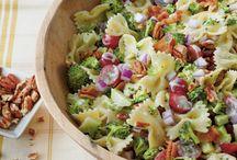 Salads & Pot-Luck food