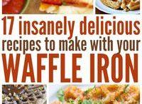 Waffle Ironing