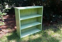 bathroom headboard bookcase