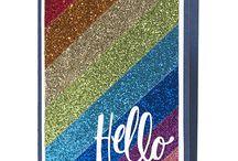 Cards - Glitter/Bling/Sparkle
