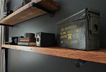 shelves. / by Shea Harrison