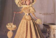 Crochet patterns for Barbie / Lovely crocheted patterns