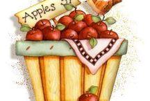 дек - повара, кухня, фрукты, овощи
