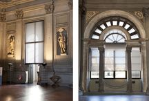 REFERENCES - Palazzo Vecchio Firenze / The blind project for the Palazzo Vecchio Museum , commissioned by the Municipality of Florence, represented for Everest, a genuine design challenge both relative to design solutions (between art and contemporary) and the development of specialist, made-to-measure systems to be applied to specific, historic building windows.  The result, to quote, of quality, enhances the technological element of Tao Design when integrating systems with special bowed frames and textile-coated profiles.