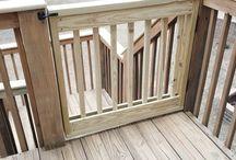 Baby/dog safety gate