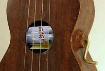 ukuleles / by Lesley Boileau