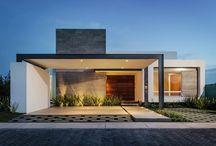 Frentes de casas minimalistas