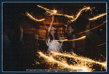 Handheld Sparklers for the 1st Dance