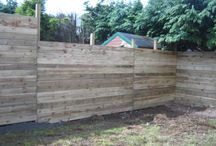 Fencing / Here are some examples of fences done by our expert fitters at Woodstoc. These fitters include Tim Marshall, David Dean, Neil Henry, Green Circle Landscaping, E. McCarroll and Direct Timber.