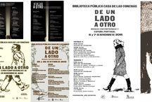 Sección de Portugal- 4ª planta / En el año 2000 , dentro del Programa Transfronterizo Interreg III, la Biblioteca recibió una maleta literaria con las obras de los grandes escritores portugueses en lengua portuguesa; este fue el fondo inicial de esta sección.