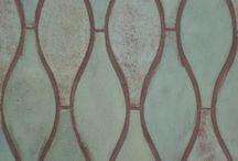 Prints - blue pottery