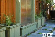 gardening & water features