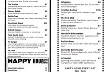 menu skilte