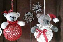 Vianoce - háčkované ozdoby