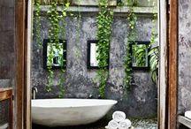 badekar og bad