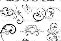 ornamenty/ rytmy