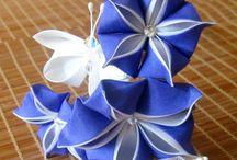 flori kanzashi