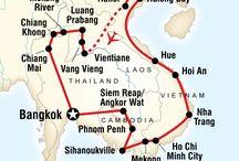 Vietnam, Cambodia, Laos
