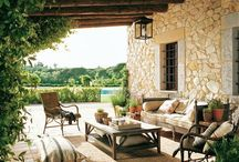 Terrasse, jardins