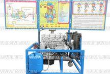 Trainer Mesin Diesel Inline / Trainer Mesin Diesel Inline