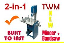 Meat Cutting Band Saw / Tool Power Industrial Machinery meat cutting band saw blades are made from quality materials to ensure sharpness and durability. For more details, visit the website page - http://www.tpim.com.au/meat-cutting-band-saw-mincer-free-extra-blade.html.