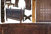 Solid wood furniture from Afghanistan / by Kabul Art Galerie Afghanistan Handicrafts