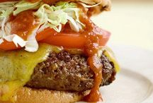 Burgers, Hot Dogs, and Pizza / pizza, flatbread, recipes, hamburgers, hot dogs, junk food