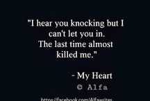 Broken heart left quotes