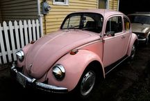 My First Car Was A Hot Pink VW Beetle / I loved my hot pink bug!!! / by Pink Kitchen Studio