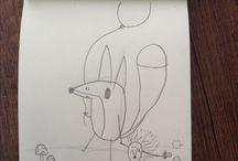 Kendim yaptım :) / Burada kendi çizimlerimi sergiliyorum...