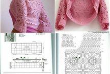 crochet vests, shrugs and bolero's / by petra smits