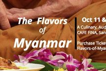 Flavors of Myanmar - A Traveling Pop-Up / In February of 2015 my daughter and I traveled to Myanmar to explore the culture, the food and the incredible countryside.  After 3 weeks, shooting 4600 images and eating amazing food I returned obsessed with this small country the world knows little about.  Now it's time to share...