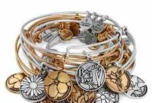 Alex and Ani / Embrace the Power of Positivity with made in America bangles and candles