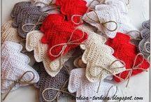 patrones crochet navidad