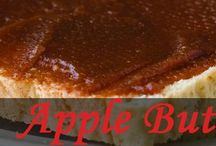 Apple Butter / I'm going to try making apple butter today! / by Cathleen Voss