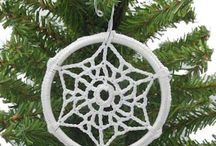 Christmas Ornaments to Crochet / These are ornaments you can crochet for your Christmas Tree from the JPF Crochet Club web site.