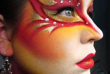 Malování na obličej - inspirace
