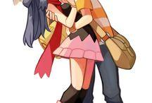 Twinleafshipping (Pokémon) ❤