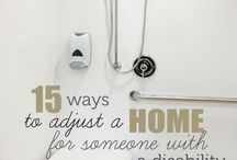 Adaptations in, and for the Home / Helping to make home life more manageable and enjoyable!