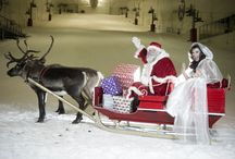 Christmas / #snowfactor make Christmas a magical experience by meeting Santa on real snow!