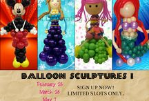 Available Classes / Upcoming courses at the Event Decorating Academy.  Sign up now! Limited slots only.