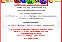 Canoe FM Bingo